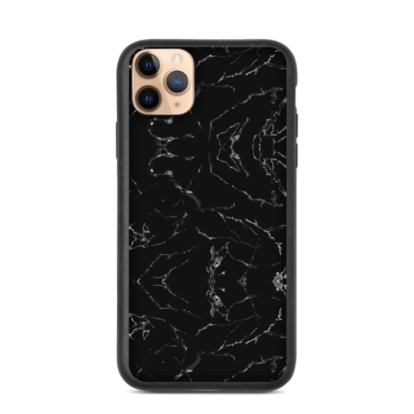 iPhone 11 Pro Max cover i Sort Marble