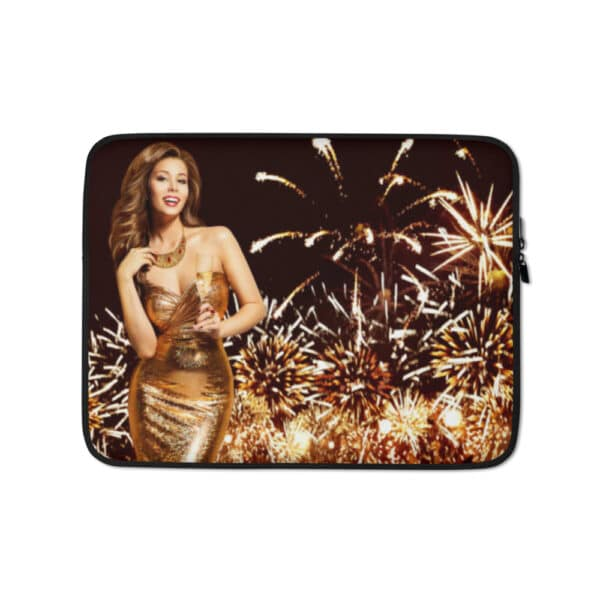 Laptop Sleeve Golden New Year 13 tommer
