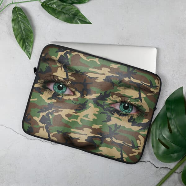 Laptop Sleeve Camouflage 15 inch